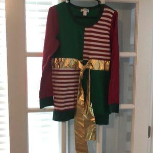 Ugly Christmas Maternity Sweater